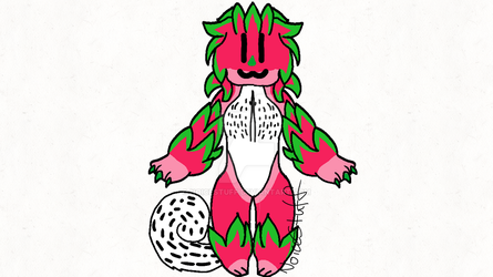 Chibi Tailwag YCH for captainjabberwocky by NoiceStuff