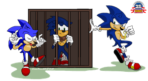 Sonic's 25th Anniversary by SoniKwolf1498