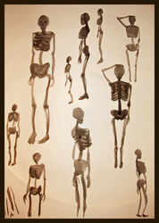 Naked to the Bone 1 by geralin