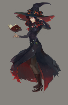Witch Adopt AUCTION [CLOSED] by opi-um