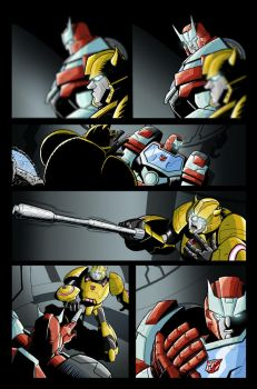 Transformers MTMTE #1 Test Colours by palmaay