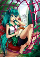 Vocaloid : Miku Hatsune by ForeverMedhok