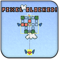 Pixel Blocked! by creidiki