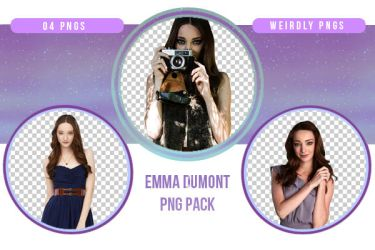 Emma Dumont PNG Pack by Weirdly-PNGS