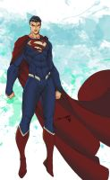 The Man of Steel... by thesealord