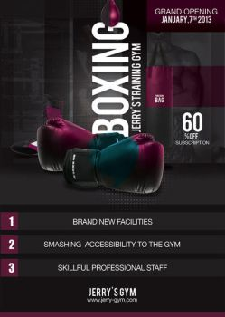 Flyer Boxing Training Gym by n2n44