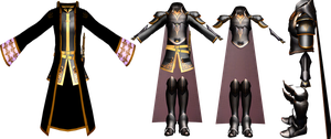[FE:SD MMD] Sable's Armor by Nintendraw