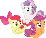 CMC seaponies by CloudyGlow