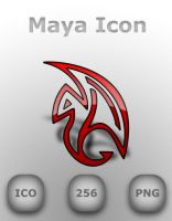 Autodesk Maya Dock Icon by GreasyBacon