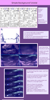Simple Background tutorial by dathie