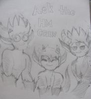Ask the HM Crew! by Foziz105
