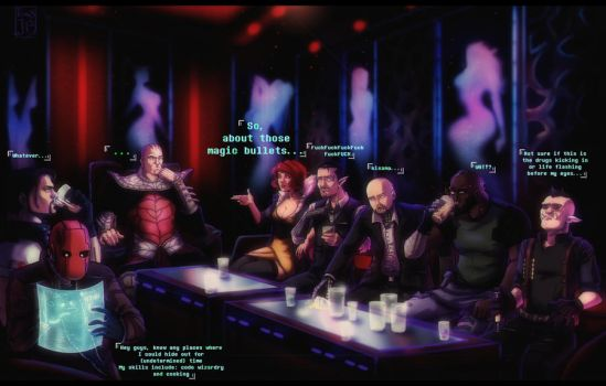 Shadowrun commission by TomisJB
