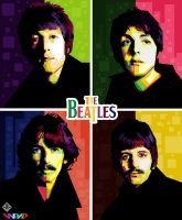 The Beatles in WPAP by rizkybobotoh33