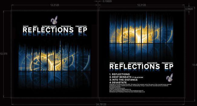 Reflections EP Sleeve Design by cps90