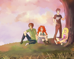 The Big Four (Rise of the Brave Tangled Dragons) by CHAOTIKproductions