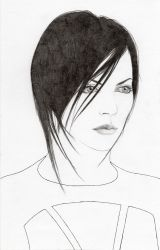 Aeon Flux - disegno in esecuzione 3^ by LittleLiuk