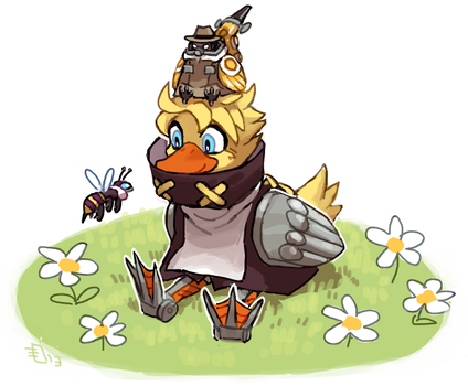 Leduck and friends by emlan
