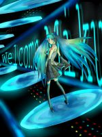 :Welcome Miku: by Xp48