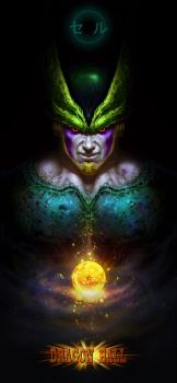 Dragon Ball-Cell  by yichenglong1985