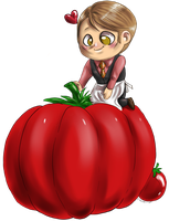 Hannibal vegetables - Tomato by FuriarossaAndMimma