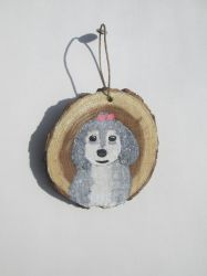 Dog Ornament by MadalynC
