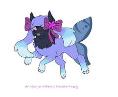Seastar Ribbons Poseidon Puppy Auction .:CLOSED:. by msVuonis