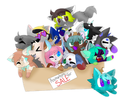 Animatiors for sale! by SushPuppy
