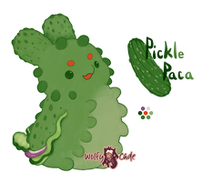 CLOSED | Pickle Paca by WolfyCade