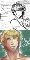 Ninjago Sketches I by witch-girl-pilar