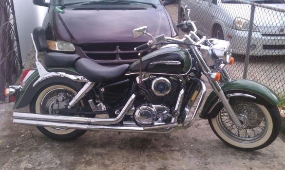 honda shadow aero 1999 by escalprillo