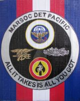 Marine Emblems Duct Tape Art by DuctTapeDesigns