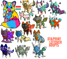 1 POINT/DTA ADOPTS [5/14 OPEN] by alphanov
