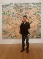 Michael Andrew Law and Cecily Brown Painting by michaelandrewlaw