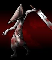 Pyramid Head need dry cleaning by macawnivore