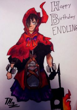 Happy (Early) Birthday Endling by SociallyBallistic