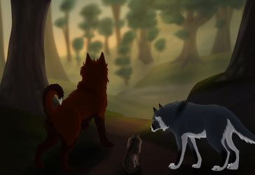Felvargs-  The Search Begins by deadlylupine