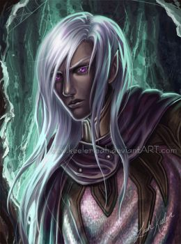 Drizzt - The Early Days by keelerleah