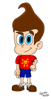 Jimmy Neutron (Movie Version) by AleMon1097