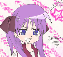 What is Kagami thinking....? by animelver123