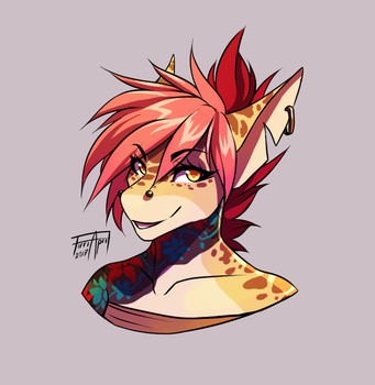 So I tried Clip Studio Paint... by WolFirry