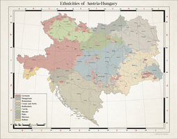 Ethnicities of Austria-Hungary by Arminius1871