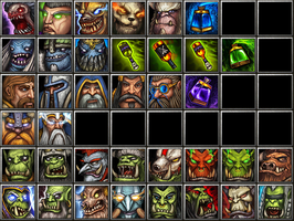 Warcraft icons by Tiodor