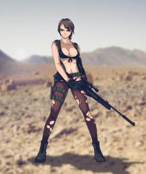 Metal Gear Solid: Quiet by Texic