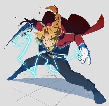 FMA: EDWARD ELRIC by rienlen
