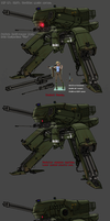 Polish anti-armor mech by Daemoria