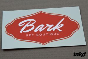 Pet Boutique Business Card Tem by inkddesign
