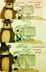 Five Nights at Freddys Pt.2 by xKillErsHAvenx