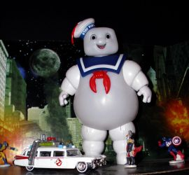 The Stay Puft Marshmellow Man 1 by CyberDrone2-0