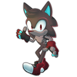 (Commission) Gavin the Hedgehog by Crisskitty
