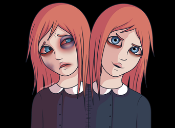 The Gemini Twins by LalaEX